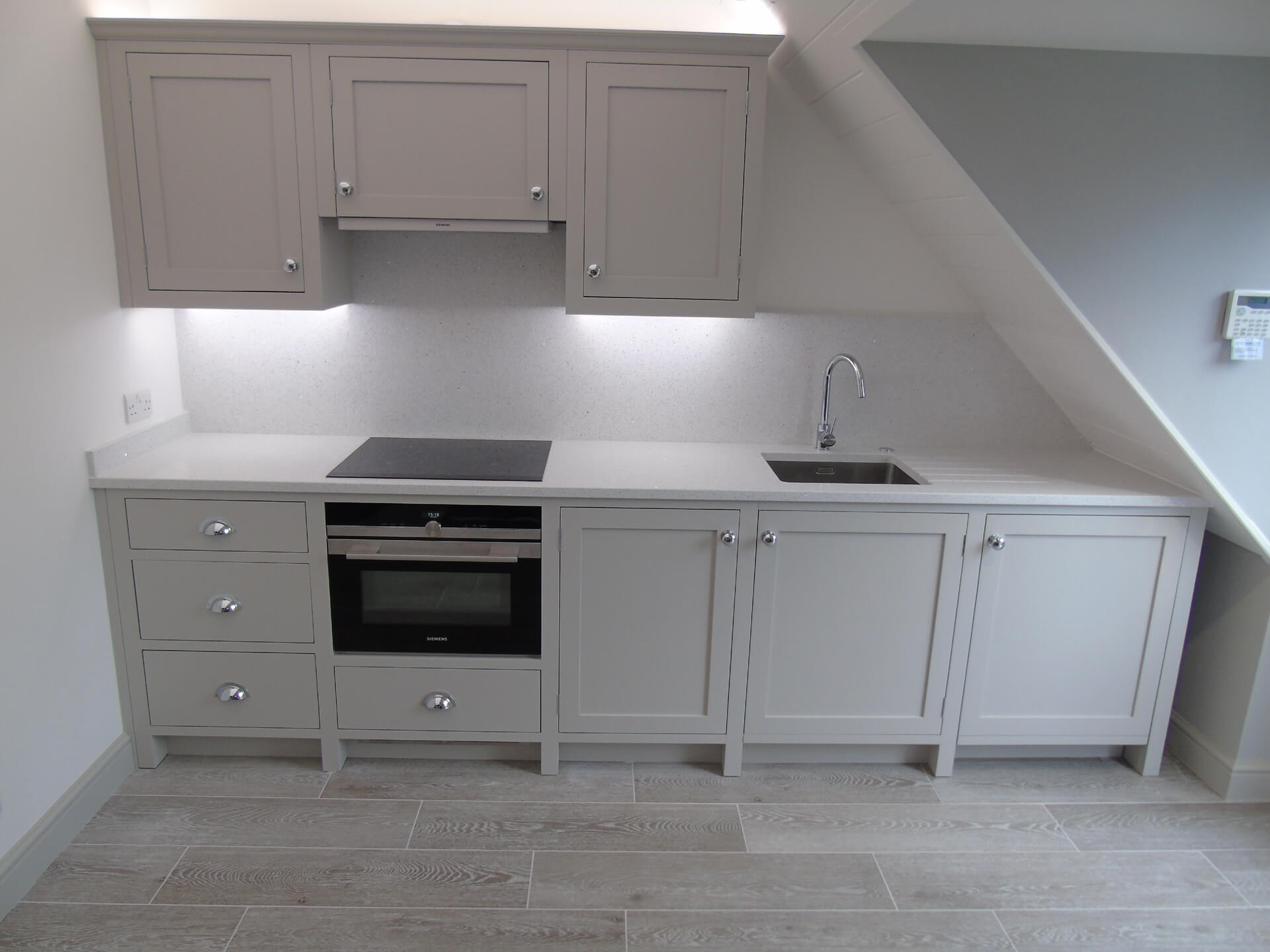 Painted Shaker Kitchenette – Henley in Arden